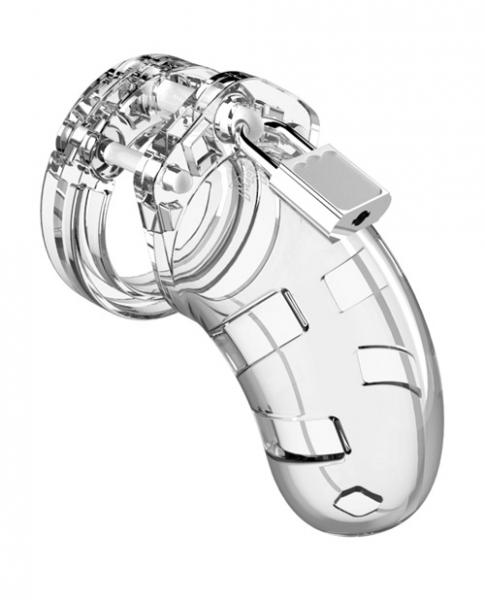 Mancage Chastity 3.5 inches Cock Cage Model 1 Clear