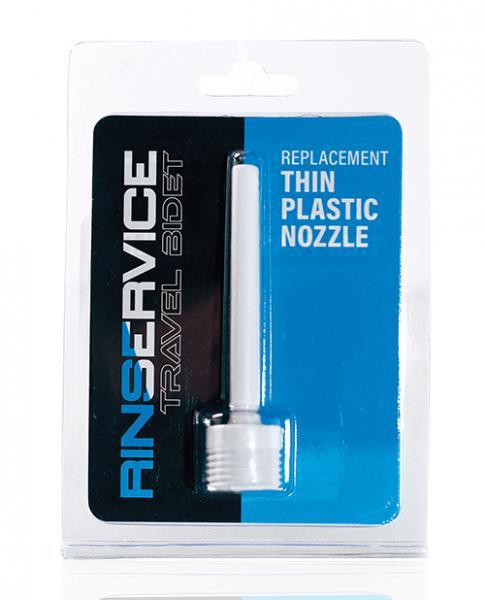 Thin Plastic Nozzle For Bidet - White