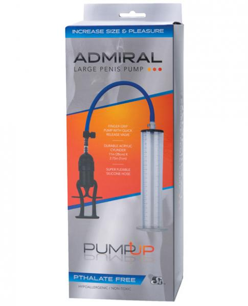 The Admiral Large Penis Pump Sex Toy Product