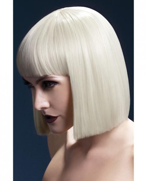 Smiffy Fever Wig Lola Blonde Blunt Cut Bob 12 inches Long