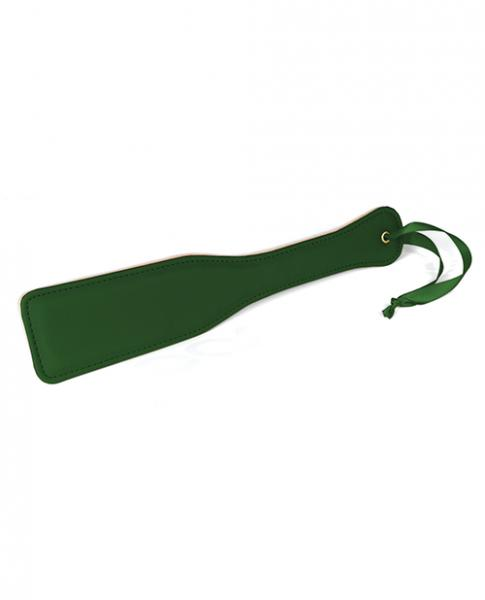 Spartacus Pu Paddle W/reverse Plush - Green