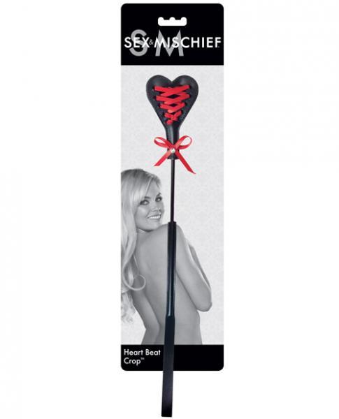 Sex & Mischief Heart Beat Crop
