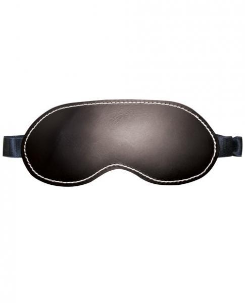 Edge Leather Blindfold Black OS