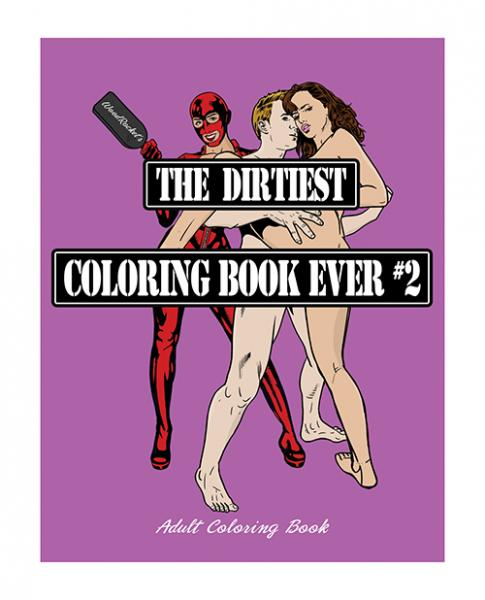 Wood Rocket The Dirtiest Coloring Book Ever #2