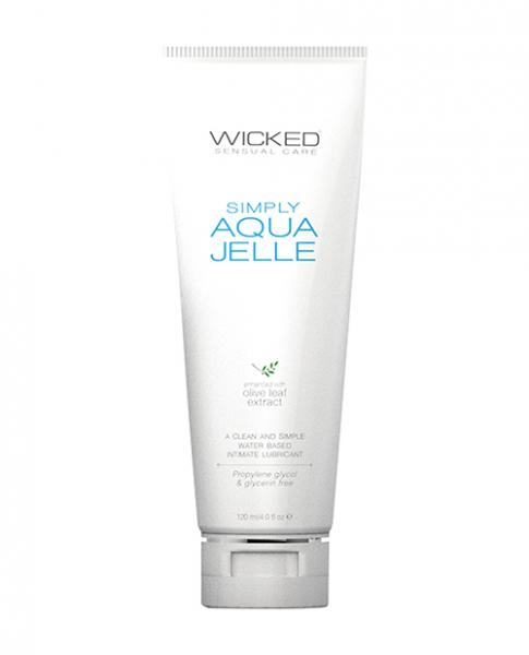 Wicked Simply Aqua Jelle Lubricant 4oz