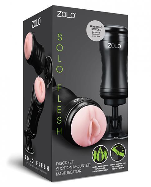 Zolo Solo Flesh Hands Free Masturbator