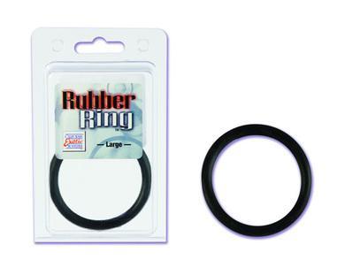 Rubber ring large - black