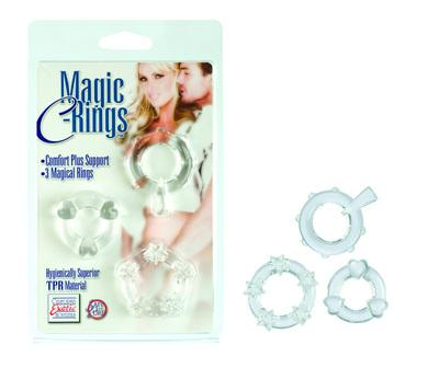 Magic c rings - clear