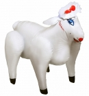 Lovin Lamb White Inflatable Party Sheep Sex Toy Product