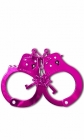 Fetish Fantasy Anodized Cuffs Pink Sex Toy Product