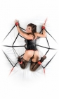 Fantasy Web Bed Restraint System Sex Toy Product