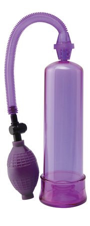 Pump Worx Beginners Pump Purple Sex Toy Product