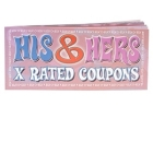 His and Hers X Rated Coupon Ea Sex Toy Product