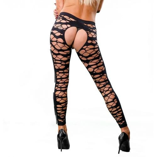 Naughty Girl Sexy Leggings Black O/S