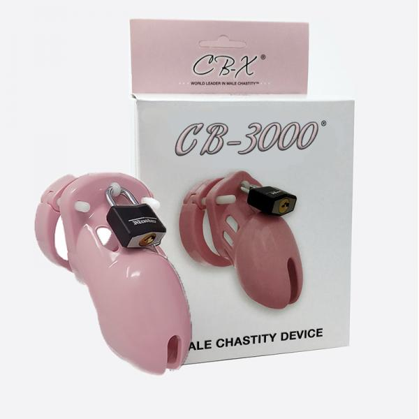 """Chastity Device Solid Pink 3 1/4 """""""