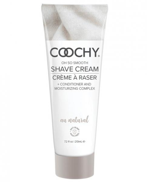 Coochy Shave Cream Au Natural 7.2 fluid ounces