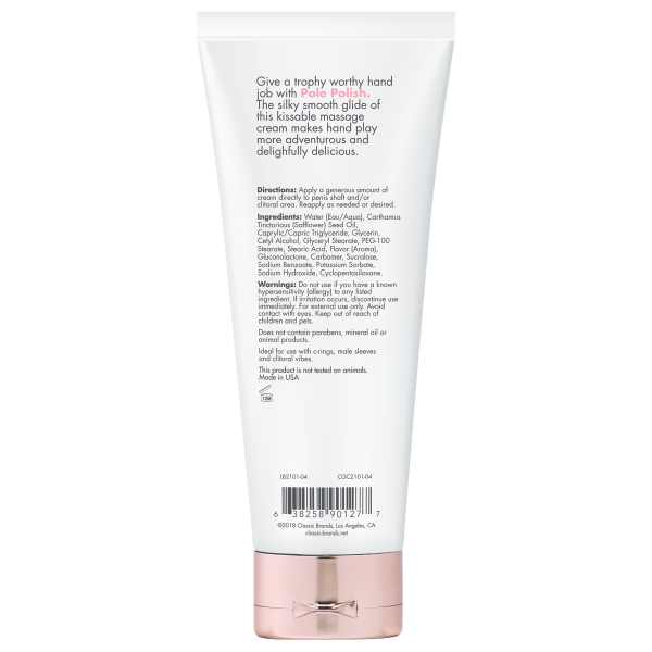 Cgc Pole Polish Simply Naked Kissable Massage Cream 4 Fl Oz