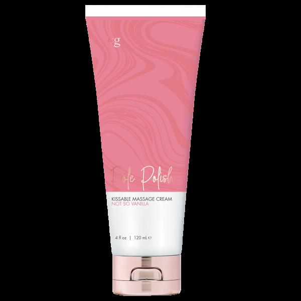 Cgc Pole Polish Not So Vanilla Kissable Massage Cream 4 Fl Oz