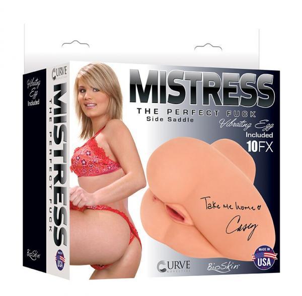 Mistress Vibrating Side Saddle Casey Vanilla Beige