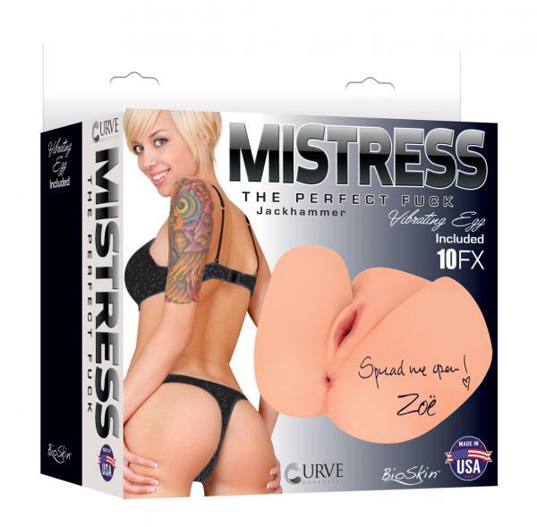 Mistress Zoe Jackhammer Butt Beige Stroker