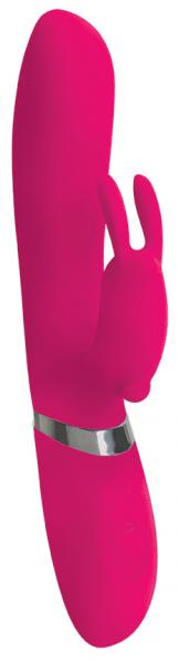 Power Bunnies Hoppy 50X Pink Rabbit Vibrator