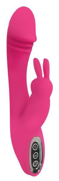 Power Bunnies Flutters 50X Pink Rabbit Vibrator