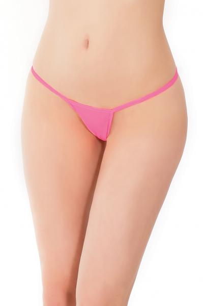 G-String Panty Neon Pink O/S
