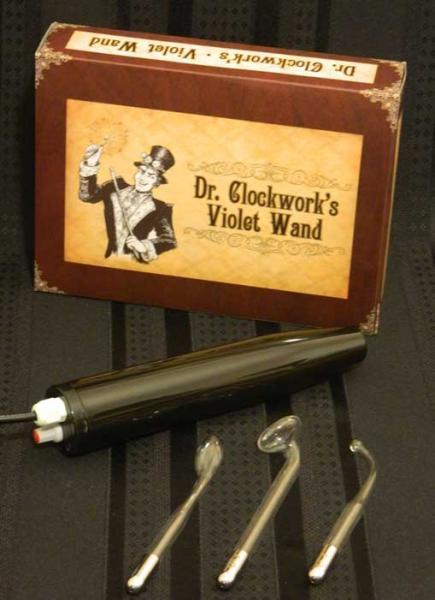 Dr Clockwork Violet Wand Kit