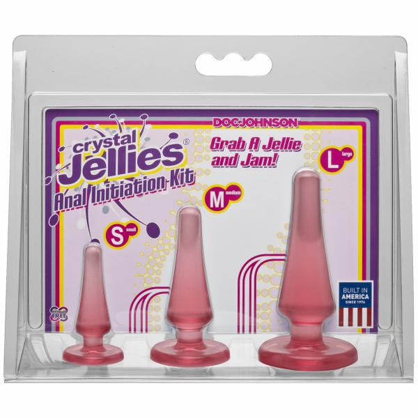 Crystal Jellies Anal Kit Pink