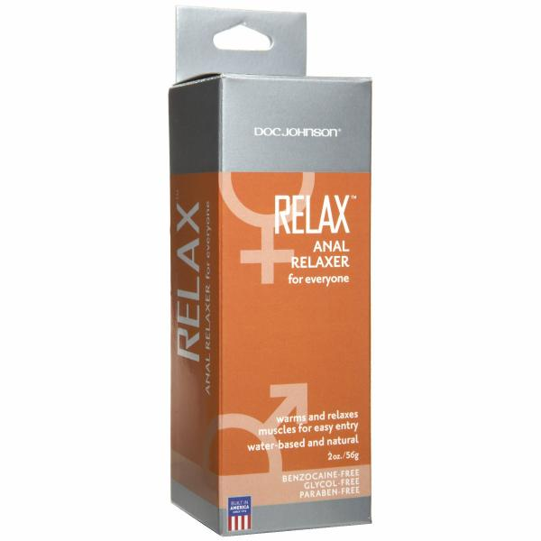Relax Anal Relaxer for everyone 2oz Boxed