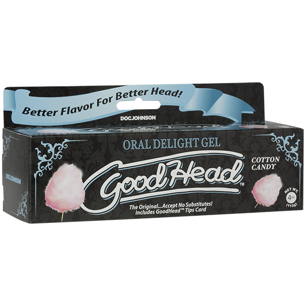 Goodhead Oral Delight Gel Cotton Candy Tube 4oz