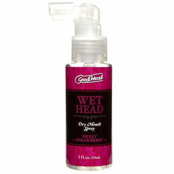 Goodhead Wet Head Dry Mouth Spray Strawberry