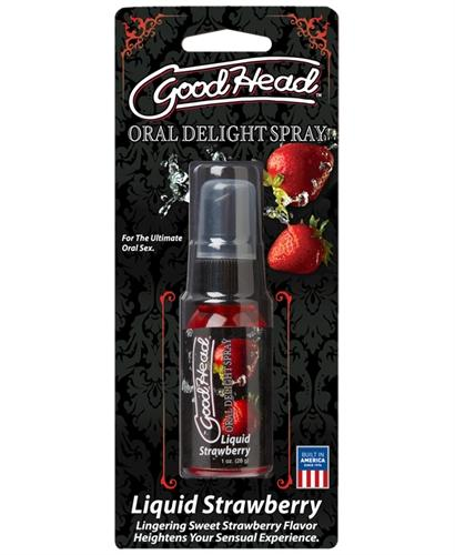 Goodhead Oral Delight Spray Strawberry 1oz