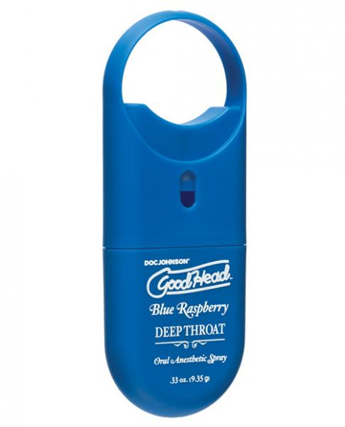 Goodhead Deep Throat Spray To Go Blue Raspberry .33oz
