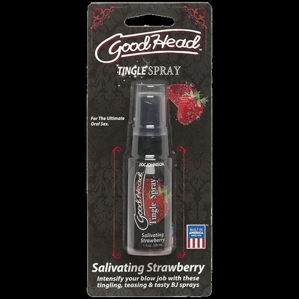 Goodhead Tingle Spray Salivating Strawberry 1oz