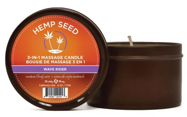 Candle 3 In 1 Wave Rider 6.8oz