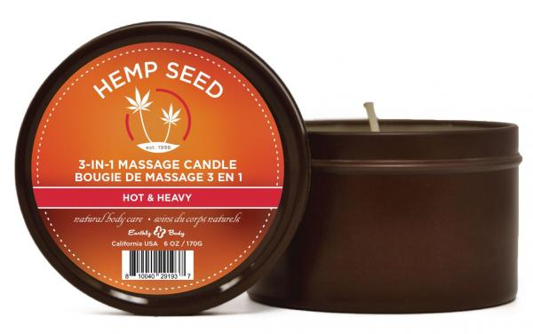 Candle 3 In 1 Hot & Heavy 6.8oz