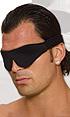 Lux Fetish Unisex Blindfold Black