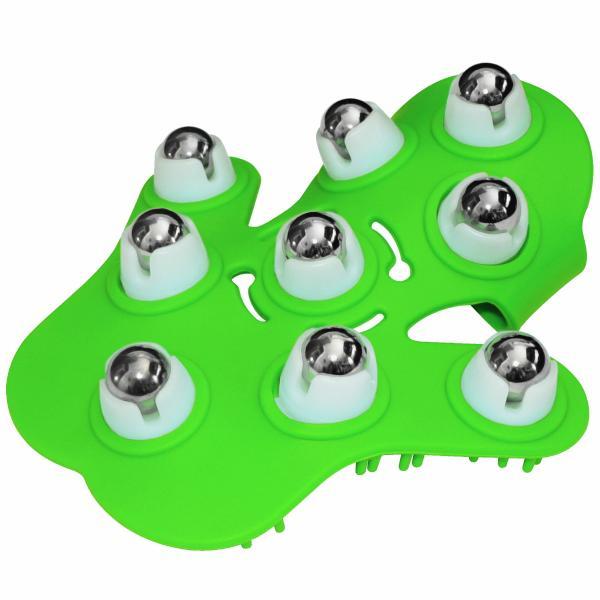 Fuzu Glove Massager Neon Green