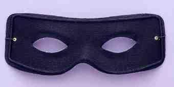 Masked Man Black