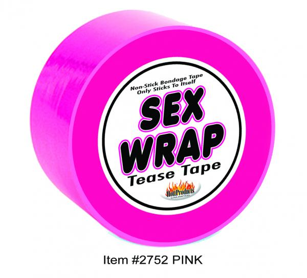 Sex Wrap Tease Tape Hot Pink