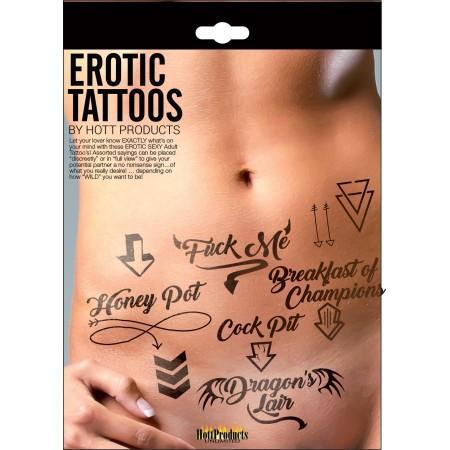 Erotic Tattoos Assorted Pack