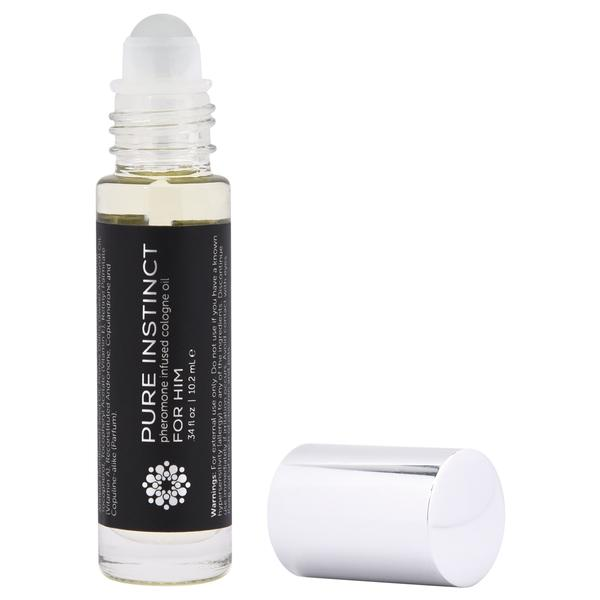 Pure Instinct Pheromone Oil For Him Roll On .34 ounce