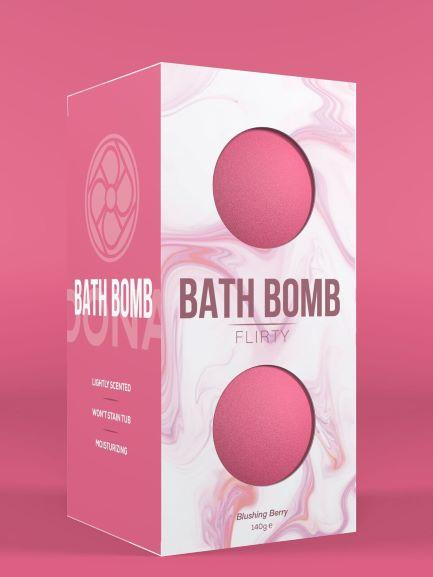 Dona Bath Bomb Flirty Blushing Berry 4.93 ounces