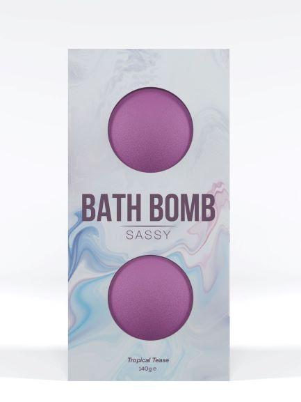 Dona Bath Bomb Sassy Tropical Tease 4.93 ounces