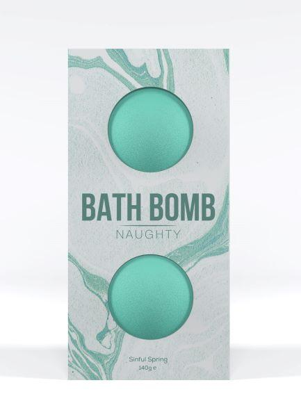Dona Bath Bomb Naughty Sinful Spring 4.93 ounces