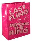 Last Fling Before The Ring Gift Bag Sex Toy Product