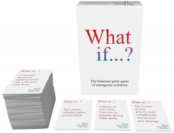 What If...? The Hilarious Party Game Of Outrageous Scenarios.