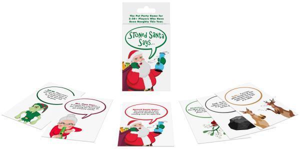 Stoned Santa Says Naughty Card Game