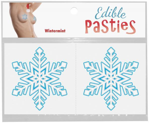 Edible Body Snowflakes Pasties Wintermint
